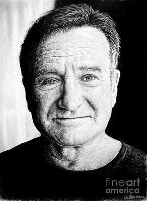 Robin Williams Print by Andrew Read
