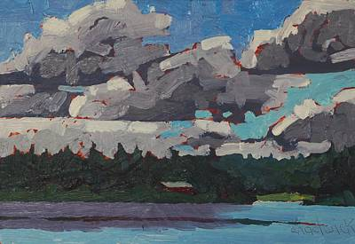 Painting - Robinson Lake Morning by Phil Chadwick