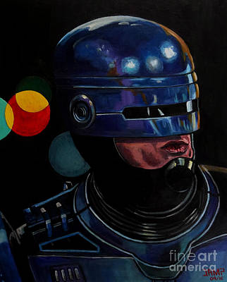 Robocop2 Art Print