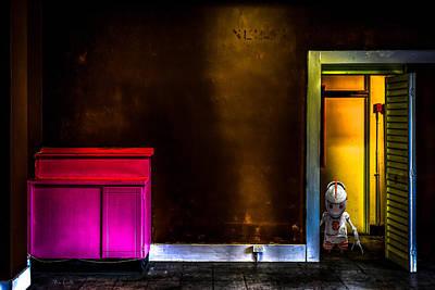 Photograph - Robot In The Closet by Bob Orsillo