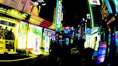 Photograph - Robot Restaurant Shinjuku Tokyo by Jera Sky