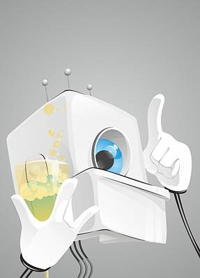 Robot Says Original by Sergey Ponkratov