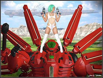 Photograph - Robot Slayer by Jon Volden