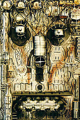 Sculpture - Robot Tron  by Michael Puleo