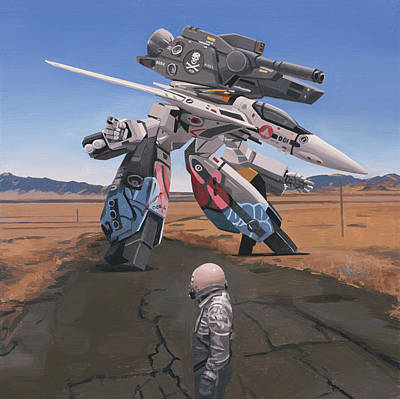 Painting - Robotech by Scott Listfield