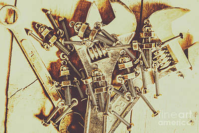 Equipment Wall Art - Photograph - Robotic Repairs by Jorgo Photography - Wall Art Gallery