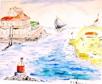 Robert E Lee Painting - Robt E Lee Inn Jersey Shore by Alfred P  Verhoeven