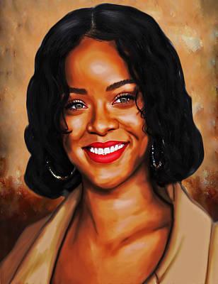 Robyn Rihanna Fenty Canvas  Original