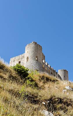 Photograph - Rocca Calascio - An Ancient Castle by Andrea Mazzocchetti