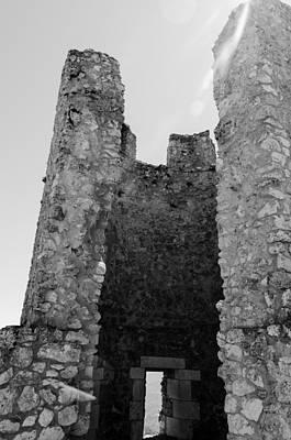 Photograph - Rocca Calascio Castle - Ruins  by Andrea Mazzocchetti