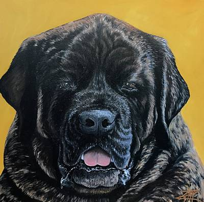 Painting - Rocco by Ana Marusich-Zanor