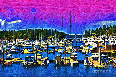 Digital Art - Roche Harbor 1 by Kirt Tisdale