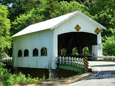 Historical Bridges Digital Art - Rochester Bridge by Methune Hively