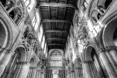 Photograph - Rochester Cathedral by David Pyatt