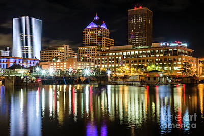 Photograph - Rochester City Reflections by Joann Long