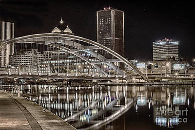 Photograph - Rochester In Platinum by Joann Long
