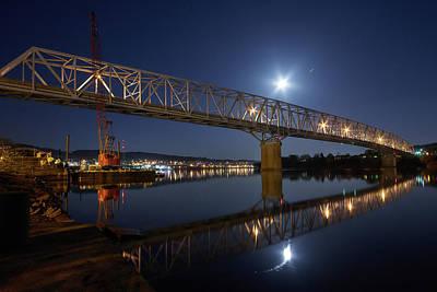 Rochester-monaca Bridge Art Print by Thomas DiVittis