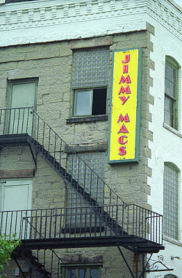 Art Print featuring the photograph Rochester, New York - Jimmy Mac's Bar 2 by Frank Romeo