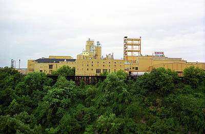 Art Print featuring the photograph Rochester, Ny - Factory On A Hill by Frank Romeo