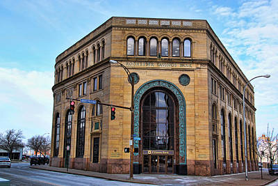 Photograph - Rochester, Ny Savings Bank Building by Gerald Salamone