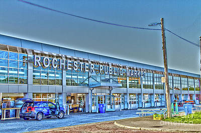 Photograph - Rochester Public Market by William Norton