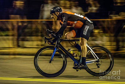 Photograph - Rochester Twilight Criterium by Joann Long