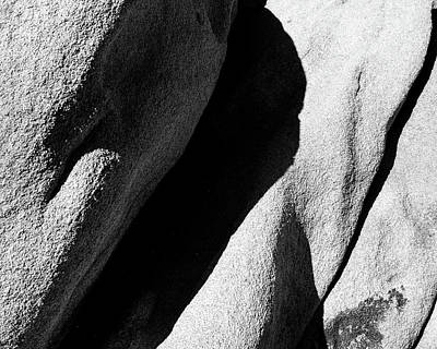 Photograph - Rock Abstract by Alex Snay