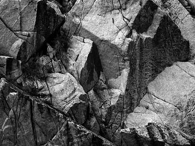 Photograph - Rock Abstract by Art Shimamura