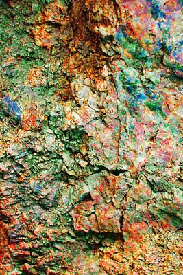 Ruff Digital Art - Rock Abstract  by Jacob Brewer