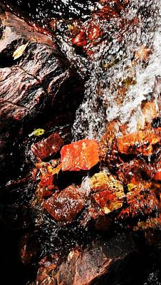 Photograph - Rock Abstracts Of Litchfield N P #12 by Lexa Harpell
