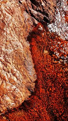 Photograph - Rock Abstracts Of Litchfield N P #3 by Lexa Harpell