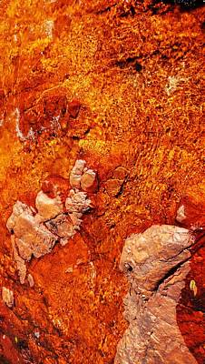 Photograph - Rock Abstracts Of Litchfield N P #5 by Lexa Harpell