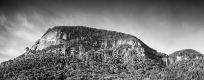 Photograph - Rock And Falls - Bw by Joye Ardyn Durham