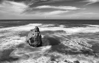 Photograph - Rock And Its Shadow by Joseph S Giacalone