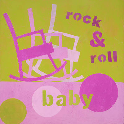 Rock And Roll Baby Original by Laurie Breen