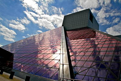 Music Photograph - Rock And Roll Hall Of Fame by Allison Liffman