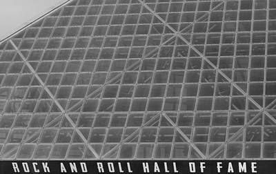 Photograph - Rock And Roll Hall Of Fame Cleveland Ohio by Dan Sproul