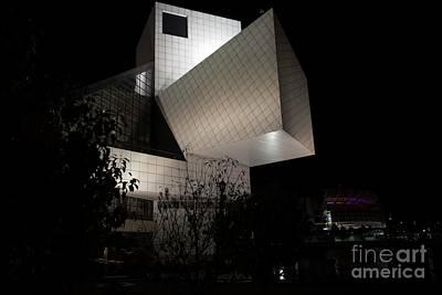 Photograph - Rock And Roll Hall Of Fame by David Bearden