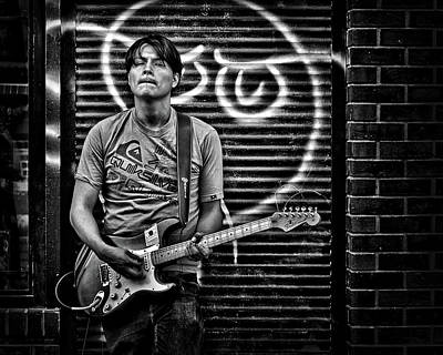Photograph - Rock And Roll In Kensington Market by Brian Carson