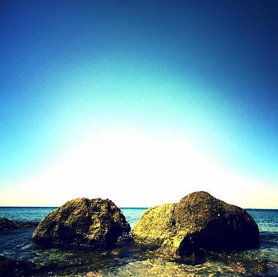 Rock And Sea Original by Mariyana Chavdarova
