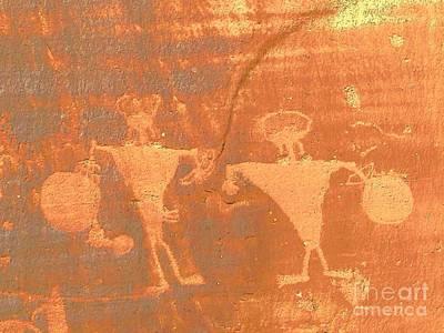 Rock Art - Utah Art Print