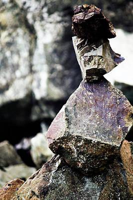 Photograph - Rock Art by Edward Hawkins II