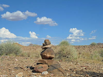 Photograph - Rock Art by Joe  Burns