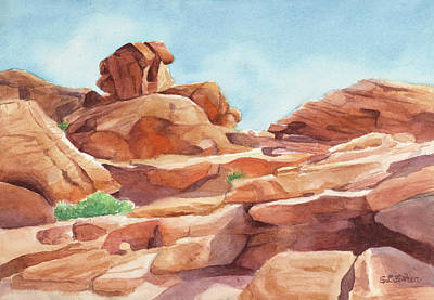 Painting - Rock Away by Sandy Fisher