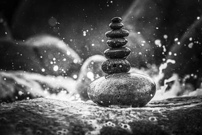 Photograph - Rock Balance by Jesse Watrous
