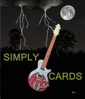 Mixed Media - Rock Blues by Eric Kempson