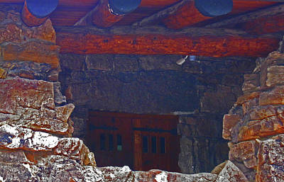 Art Print featuring the photograph Rock Building by Tammy Sutherland