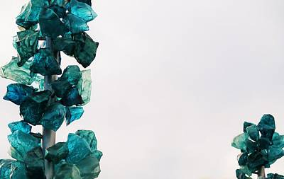 Photograph - Rock Candy Trees by Martin Cline