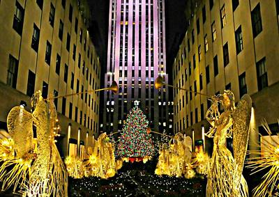 Photograph - Rock Center Christmas 2015 by Diana Angstadt