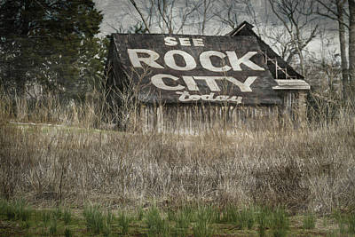 Digital Art - Rock City by Elijah Knight